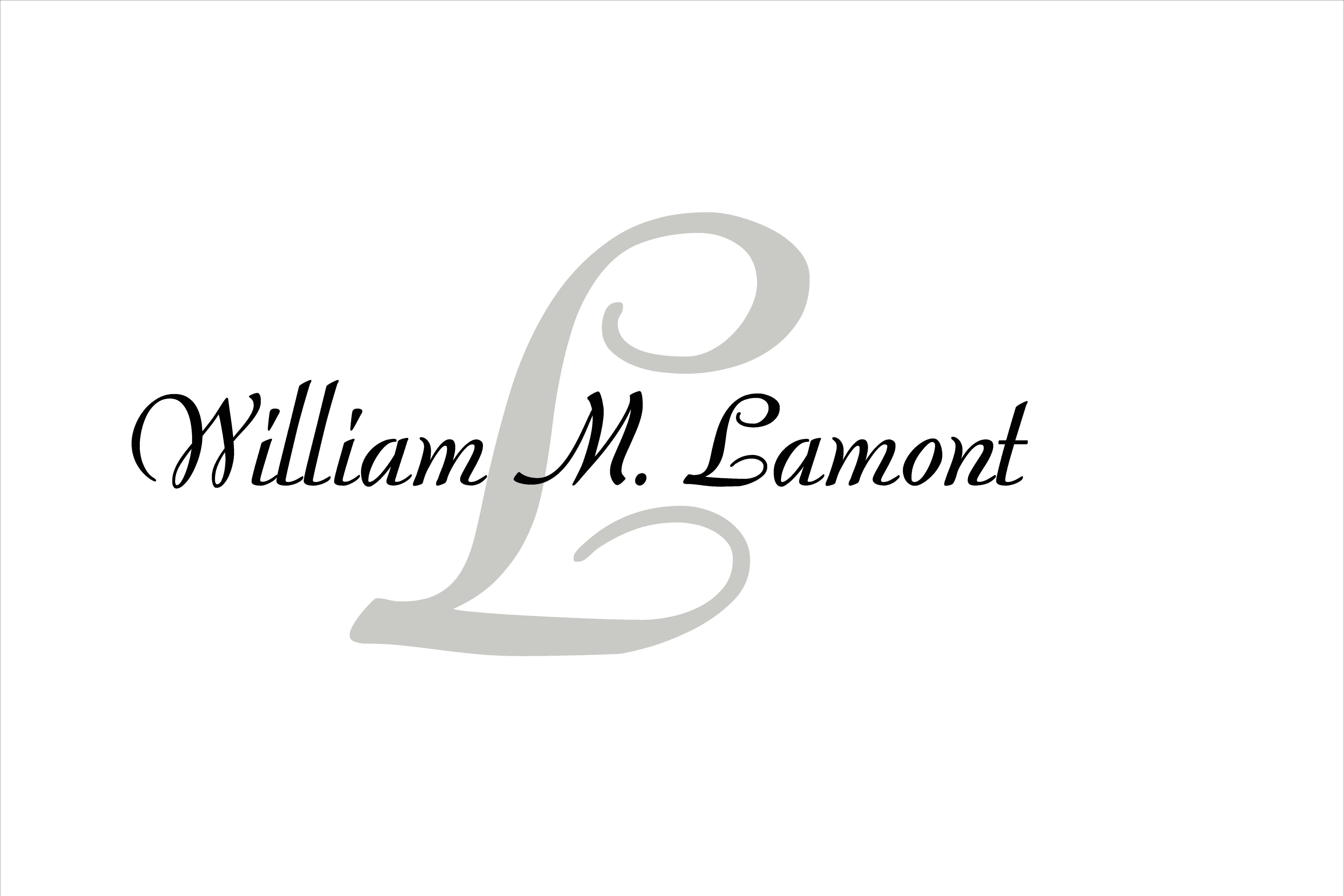 About William M. Lamont